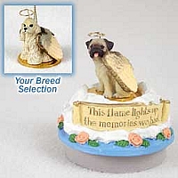 Cocker Spaniel Blonde Candle Topper Tiny One Pet Angel Ornament