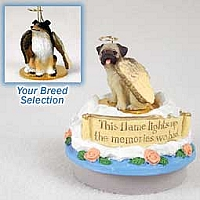 Collie Tricolor Candle Topper Tiny One Pet Angel Ornament