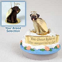 Labrador Retriever Chocolate Candle Topper Tiny One Pet Angel Ornament
