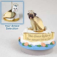 Maltese Candle Topper Tiny One Pet Angel Ornament