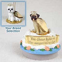 West Highland Terrier Candle Topper Tiny One Pet Angel Ornament