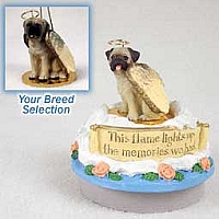 Mastiff Candle Topper Tiny One Pet Angel Ornament