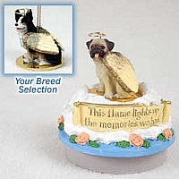 Welsh Corgi Cardigan Candle Topper Tiny One Pet Angel Ornament