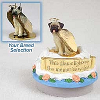 Akita Fawn Candle Topper Tiny One Pet Angel Ornament