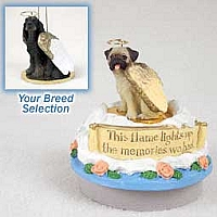 Gordon Setter Candle Topper Tiny One Pet Angel Ornament