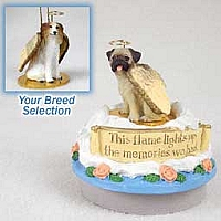 Borzoi Candle Topper Tiny One Pet Angel Ornament