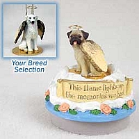 Kuvasz Candle Topper Tiny One Pet Angel Ornament