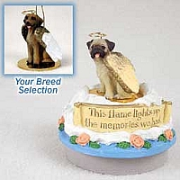 Rhodesian Ridgeback Candle Topper Tiny One Pet Angel Ornament