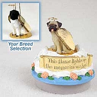 Landseer Candle Topper Tiny One Pet Angel Ornament