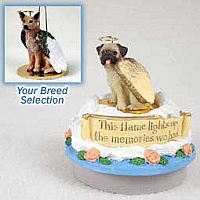 Australian Cattle Red Dog Candle Topper Tiny One Pet Angel Ornament