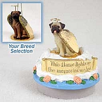 Bullmastiff Candle Topper Tiny One Pet Angel Ornament