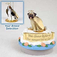 American Fox Hound Candle Topper Tiny One Pet Angel Ornament
