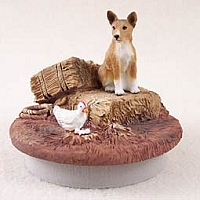 Basenji Candle Topper Tiny One