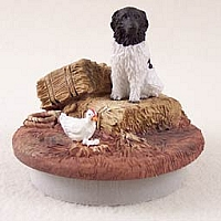 Landseer Candle Topper Tiny One