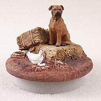 Bullmastiff Candle Topper Tiny One