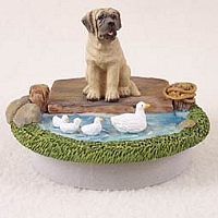 Mastiff Candle Topper Tiny One