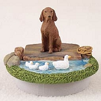 Vizsla Candle Topper Tiny One