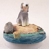 Bedlington Terrier Candle Topper Tiny One