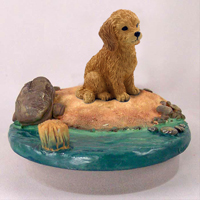 Goldendoodle Candle Topper Tiny One
