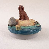 Irish Setter Candle Topper Tiny One