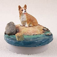Welsh Corgi Pembroke Candle Topper Tiny One