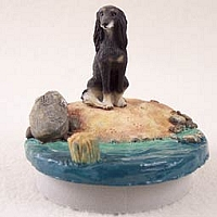 Saluki Candle Topper Tiny One