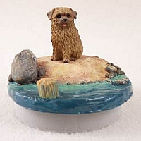 Norfolk Terrier Candle Topper Tiny One