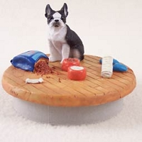 Boston Terrier Candle Topper Tiny One