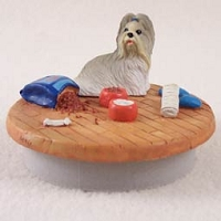 Shih Tzu Mixed Candle Topper Tiny One