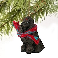 Poodle Chocolate Original Ornament