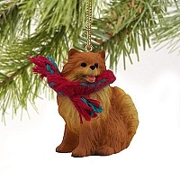 Pomeranian Red Original Ornament