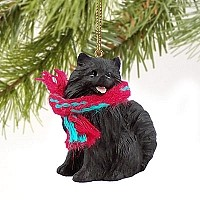 Pomeranian Black Original Ornament