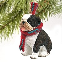 Bulldog Brindle Original Ornament