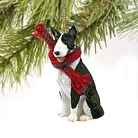 Bull Terrier Brindle Original Ornament