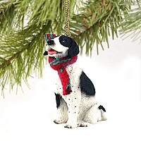 Pointer Black & White Original Ornament
