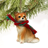 Chihuahua Longhaired Original Ornament