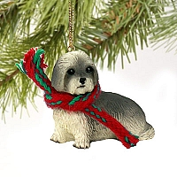 Lhasa Apso Gray w/Sport Cut Original Ornament