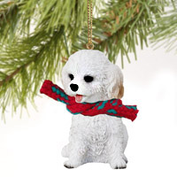 Cockapoo White Original Ornament