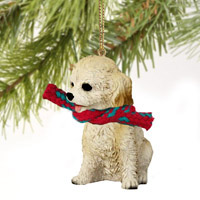 Cockapoo Blond Original Ornament