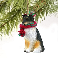 Sheltie Tricolor Original Ornament