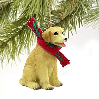 Labrador Retriever Yellow Original Ornament