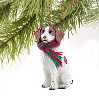 Brittany Brown & White Spaniel Original Ornament