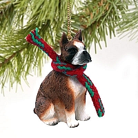 Boxer Brindle Original Ornament