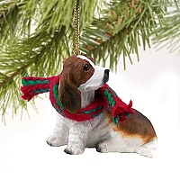 Basset Hound Original Ornament