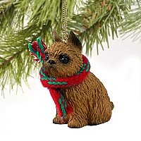 Brussels Griffon Red Original Ornament