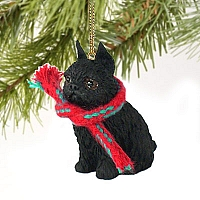 Brussels Griffon Black Original Ornament