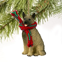 Norwegian Elkhound Original Ornament