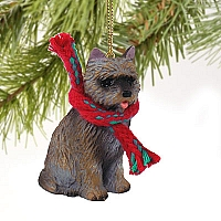 Cairn Terrier Brindle Original Ornament