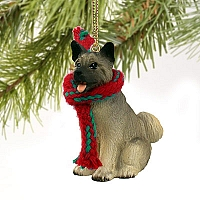 Akita Gray Original Ornament