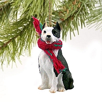 Pit Bull Terrier Brindle Original Ornament